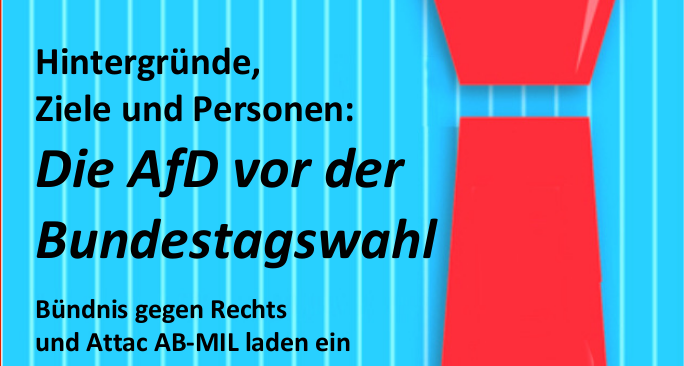 Veranstaltungstipp heute: Doppelpack AfD