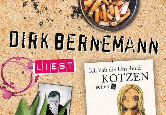 Dirk Bernemann liest sich selbst!