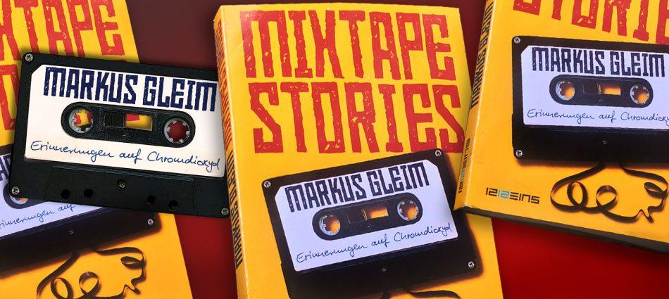 """Lesung von Markus Gleim: """"Mixtape Stories – Erinnerungen auf Chromdioxid"""""""