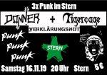 3-mal Punk im Stern: Donner, Tigercage, Verklärungsnot