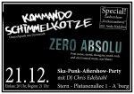 Konzert: Kommando Schimmelkotze & Zero Absolu